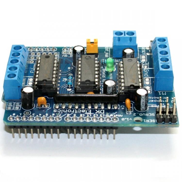 L293D Motor Drive Shield Expansion Board For Arduino Duemilanove Mega UNO Free