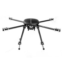 SkyKnight X4-700 Carbon Fiber FPV Quadcopter Aircraft Frame+Landing Skid (Upgrade Version of Xaircraft 650)