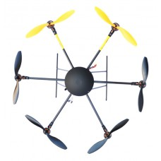 LOTUSRC UFO T700 Folding Hexacopter FPV Aircraft Multicopter ARF Frame (with Motor+Propeller)