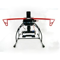 FLYCAT MWC X-Mode Alien Multicopter Quadcopter Frame Kit with Tall Landing Skid+ Camera Gimble