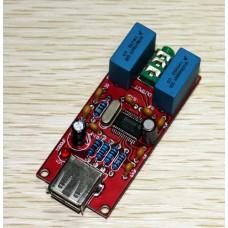 USB DAC PCM2704 Headphone Amplifier Board Built-in Headset Amp