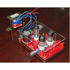 Pre-amp Tube Amplifier Headphone Kit 6N3 with Rectifier Board for DIY