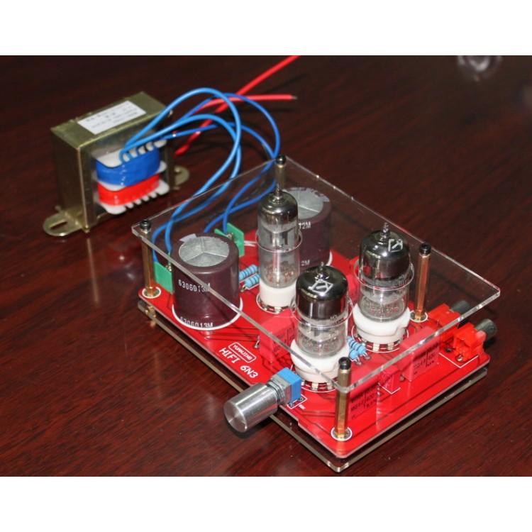 Pre-amp Tube Amplifier Headphone Kit 6N3 with Rectifier ...