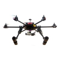 THB-X6 20mm Carbon Fiber FPV Hexacopter Multicopter/Aircraft Frame +H Landing Skid(King Kong Version)