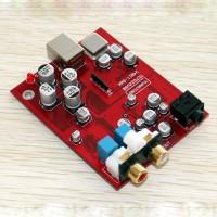 24 BIT 96K USB DAC Headset Amp TE7022+CS4398+OPA2132 Headphone Amplifier Board