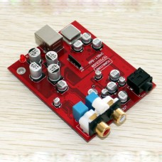 24 BIT 96K USB DAC Headset Amp TE7022+CS4398+OPA2132 Headphone Amplifier Board
