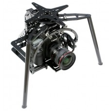 FLYCAM Artist P3X-1000E Professional 3 Axis Tilt/Zoom/Pan Gimbal (FAFC3XP-1/Frame) For Multicopter Experts