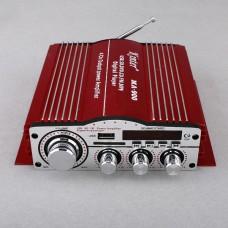 Kinter Ma-900 USB SD FM CD Digital Player Remote Control HiFi Stereo 4*41W Car Amplifier Red
