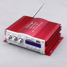 Kinter HY-3001 DC12V 20W*4 AUX USB SD MMC Card FM DVD MP3 Digital Player HIFI Power Amplifier