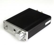 SMSL SA-S21 TA2021B 25W+25W Class-T Digital Headphone Amplifier + Power Adapter (Silver/Black Optional)
