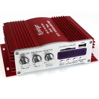 Kintiger HY-2009 USB SD MMC Card Digital Player With FM Radio Power Amplifier 20W+20W + Display