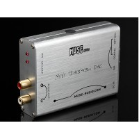 Muse Mini TDA1543 + DIR9001 DAC Decoder Support Coaxial & Fiber Input With Power Adapter parallel connection NOS DAC