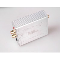 MUSE Mini USB DAC PCM2704 Sound Card Optical Coaxial Decoder USB to S/PDIF Converter-Silver