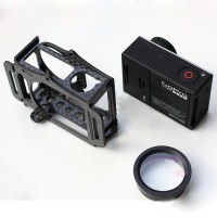 Gopro 3 Carbon Fiber Housing Case Protector for Multicopter FPV System