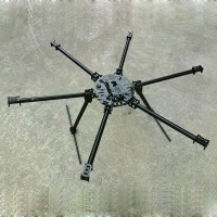 25mm Carbon Fiber Hexacopter Multicopter Frame Set Kit 1200mm Wheelbase FPV System