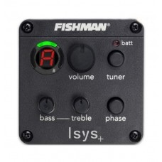 "Fishman ""ISYS +"" Acoustic Guitar Pickup Preamp Eq Tuner"