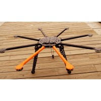 SkyFly-1100 Photography FPV Carbon Fiber Octa-rotor Aircraft Folding Octacopter Airframe Kit