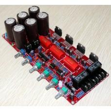TDA7293 2.1 Channel High Capacity 10000Uf*6 50V BTL Amplifier Board 50-150HZ