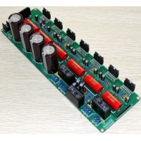 TDA7293 5.1 Channel Amp High Capacity 10000Uf*4 50V BTL Amplifier Board 50-150HZ