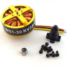 W5130 570KV Outrunner Brushless motor Disk Type Motor for 800-1000mm Multi-rotor (6S) Multicopter