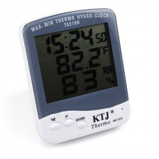 New Large Digital LCD Indoor Thermometer W/ Hygrometer -10°C~50°C