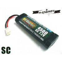 H-ENERGY 4500mAh 7.2V NI-MH Battery