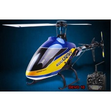 Walkera V450D03 with DEVO 10 Transmitter 6CH 3D 6-axis-Gyro Flybarless Helicopter RTF 2.4Ghz