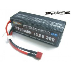 H-ENERGY 5200mAh 14.8V 30C LiPo Battery