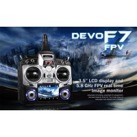 Walkera Devo F7 FPV 7 Channel Transmitter 5.8Ghz FPV Edition