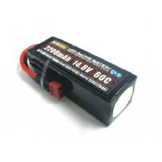 H-ENERGY 2200mAh 14.8V 60C LiPo Battery