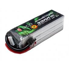 ACE 22.2V 3200mAh 35C LiPo Battery Pack Align 600