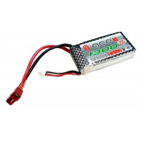 ACE 7.4V 1300mAh 25C LiPo Battery Pack for RC Airplane Helicopter Multirotor