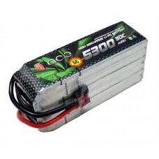 ACE 22.2V 5300mAh 30C LiPo Battery Pack 700 Goblin/Align/GAUI