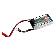 ACE 7.4V 800mAh 20C Small Rama Battery JST Connector for RC Airplane Helicopter Multirotor Multicopter