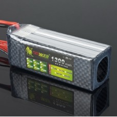 LION Power 22.2V 1300MAH 30C LiPo Battery BT681 for Multi-rotor Airplane
