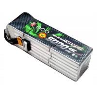 ACE 22.2V 5000mAh 45C LiPo Battery Pack Align 700 GUXI X7 Pack