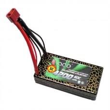 ACE 7.4V 4200mah 2S 60C LiPo Battery Pack for Mutirotor Hobby