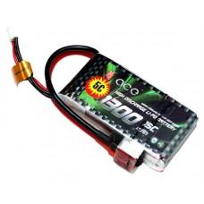 ACE 7.4V 1300mAh 15C  LiPo Battery Pack Rama KT Edition