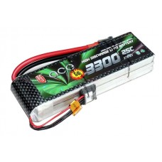 High Discharge ACE 11.1V 3300mAh 25C LiPo Battery Pack