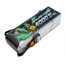 High Quality ACE 14.8V 4000mAh 4S 25C LiPo Battery Pack