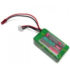 ACE 11.1V 800mAh 15C LiPo Battery Pack JST Connector