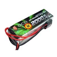 ACE 11.1V 2000mAh 5C LiPo Battery Pack futaba JR Double-headed