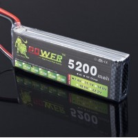 High Power/Discharge LION Power 7.4V 5200MAH 30C LiPo Battery BG712