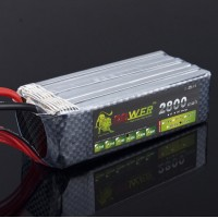 High Power Rechargeable LION Power 22.2V 2800MAH 35C LiPo Battery BG714