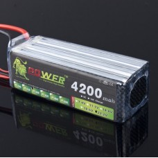High Power Rechargeable LION Power 22.2V 4200MAH 30C LiPo Battery BG705