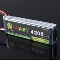 High Power Rechargeable LION Power 11.1V 4200MAH 30C LiPo Battery BG703