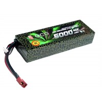 High Quality ACE Rechargeable 7.4v 5000mAh 40C 2S LiPo Battery Pack
