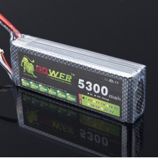 High Quanlity Rechargable LION Power 7.4V 5300MAH 35C LiPo Battery BG706