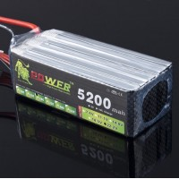 High Quanlity LION Power 22.2V 5200MAH 30C LiPo Battery BG713