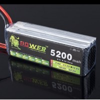 High Quality Rechargable LION Power 14.8V 5200MAH 30C LiPo Battery BG708
